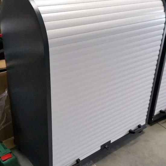 Benzinarii - Dulapuri metalice cu rulou de aluminiu