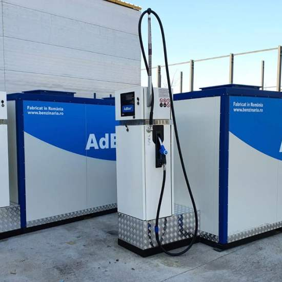 instalatie fiscalizabila pentru vanzare AdBlue